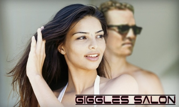 Giggles Salon - Brooklands Park: $40 for $85 Worth of Salon Services at Giggles Salon in Rochester Hills