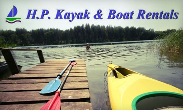 H. P. Kayak & Boat Rentals - Glastonbury: $15 for Two Hours of Kayak, Canoe, or Rowboat Rental on the Connecticut River from H. P. Kayak & Boat Rentals (Up to a $35 Value)