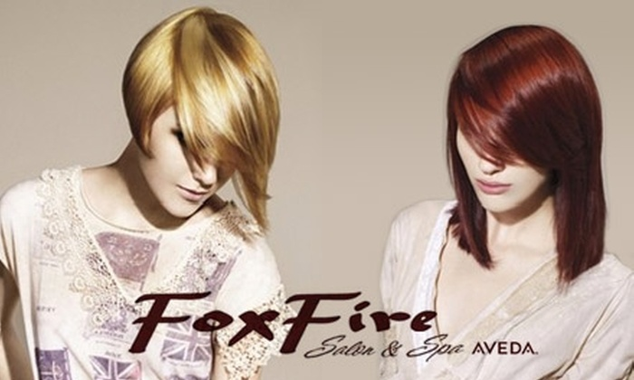 FoxFire Salon & Spa - Multiple Locations: $50 for $100 Worth of Beautifying Services and Treatments at FoxFire Salon & Spa