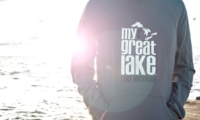My Great Lake - Detroit: $15 for $30 Worth of Great Lake–Themed T-Shirts and Sweatshirts from My Great Lake