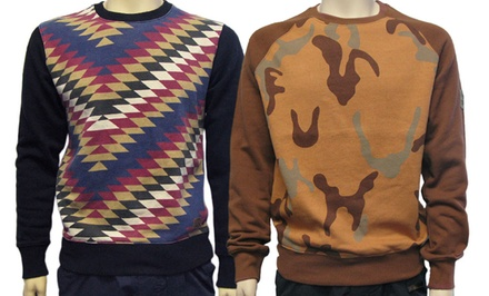 Imperial Camo or Aztec Crew-Neck Sweatshirt or Hoodie