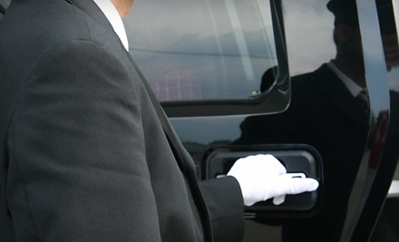 One-Way Drop-Off Car Service for up to 6 to Destination of Choice ($65 value) - V-One Limousines in