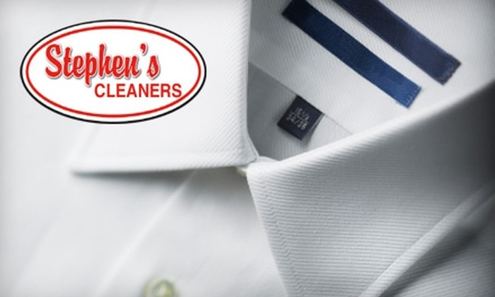 Stephen's Cleaners - Multiple Locations: $16 for $40 Worth of Dry Cleaning at Stephen's Cleaners