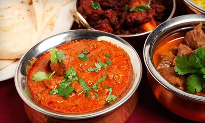 Aashiyana Fine Indian Cuisine - Center City: Indian Fare for Two or More at Aashiyana Fine Indian Cuisine in Reading (Up to 51% Off). Two Options Available.