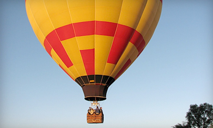 Airbus Balloon Rides LLC - Bloomington: $160 for a Hot Air Balloon Ride, Factory Tour, and Hors d'Oeuvres from Airbus Balloon Rides LLC in Bloomington ($320 Value)