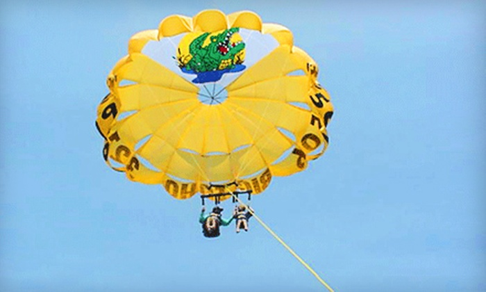 Big Toho Parasailing - Cape Canaveral: $54 for a Parasailing Adventure from Big Toho Parasailing in Cape Canaveral ($90 Value)