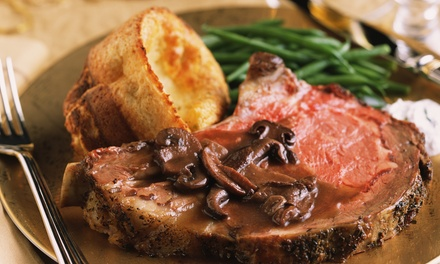 Sunday Roast for Two or Four at Sunderland Greyhound Stadium (Up to 39% Off)
