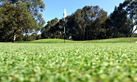 Golf Outing for Two or Four or Five-Play Punch Card at Alameda Chuck Corica Golf Complex (Up to 52% Off)