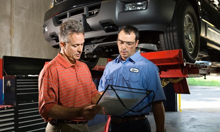 Gananoque Chevrolet Buick GMC Cadillac - Gananoque: $59 for a Semiannual Auto-Inspection Package at Gananoque Chevrolet Buick GMC Cadillac ($139.88 Value)