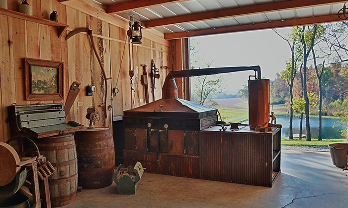 Casey Jones Distillery - Casey Jones Distillery: $19 for a Complimentary Distillery Tour and T-Shirt for Two at Casey Jones Distillery ($40 Value)