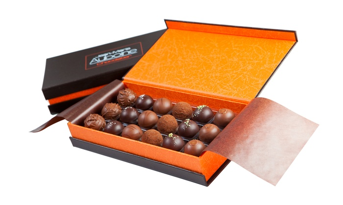 Jean-Marie Auboine Chocolatier - Jean-Marie Auboine Chocolatier : Choice of Chocolates and Candies or Any Two 8-ounce Packages of Caramels (50% Off)