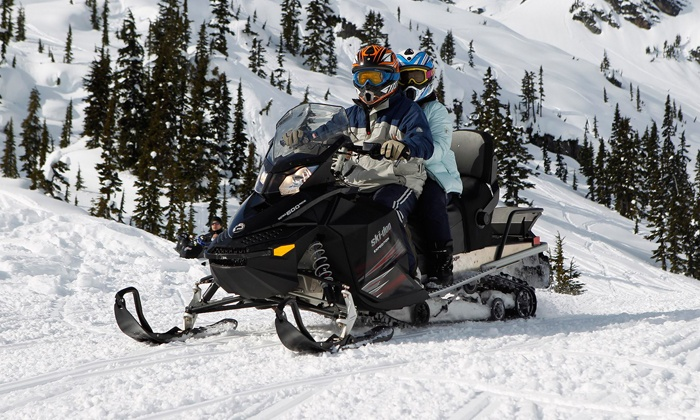Whistler Snowmobile - Whistler Snowmobile: Snowmobile Tour for Two or Four from Whistler Snowmobile (Up to 53% Off)