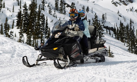 Snowmobile Tour for Two or Four from Whistler Snowmobile (Up to 53% Off)