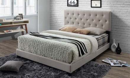 Cassandra Fabric Upholstered Bed