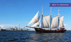 "Great Lakes Schooner: CC$18 for a Sail on the Tall Ship ""Kajama"" for One from Great Lakes Schooner Company (Up to CC$30.50 Value)"