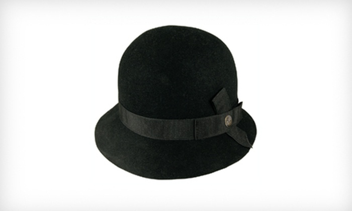 Goorin Bros. Women's Princess Cloche Hat in Black: $19 for a Women's Princess Cloche Hat in Black ($56 List Price). Three Sizes Available.