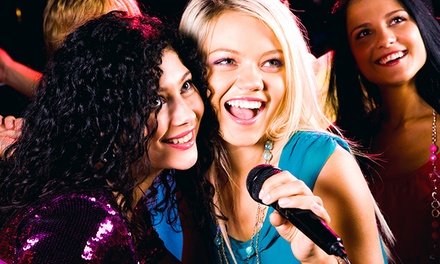 Private Karaoke and Food for 4, 6, 10, or 20 at 5 Bar Karaoke (Up to 58% Off). Eight Options Available.