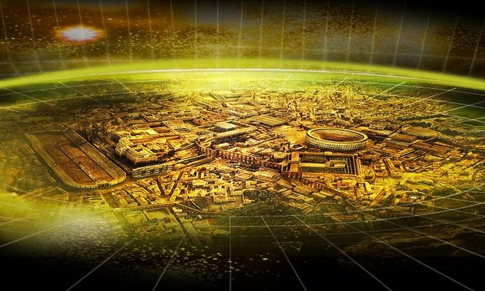 TIME ELEVATOR EXPERIENCE - Roma: Time Elevator Experience - viaggio multisensoriale attraverso la storia di Roma Antica e la nascita della Terra