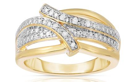 Genuine Diamond Accent Ring