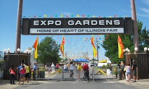 Heart of Illinois Fair: Heart of Illinois Fair at Exposition Gardens, July 10–18 (Up to 50% Off)