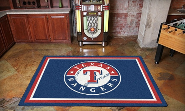 MySportsRug.com: $139 for a Sports-Team Floor Rug from MySportsRug.com ($280 Value)