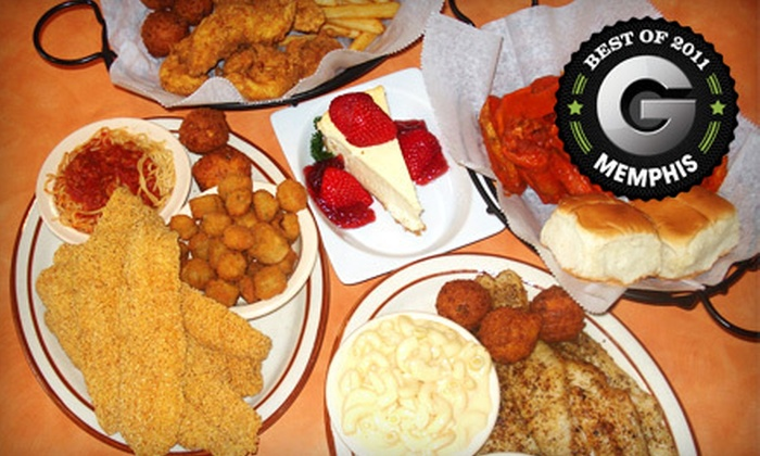 Scales Café - Memphis: $10 for $20 Worth of Fried Catfish, Fruit Smoothies, and Southern Comfort Fare at Scales Café