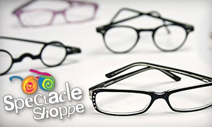 Spectacle Shoppe - Multiple Locations: $40 for $220 Worth of Designer Frames and Lenses at Spectacle Shoppe