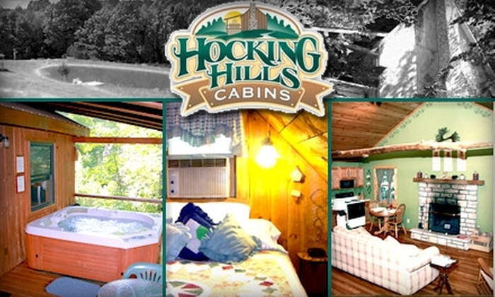 Hocking Hills - Falls: $45 for $100 Toward a Room or Spa Services at Hocking Hills Cabins