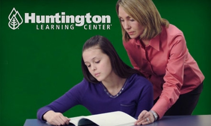 Huntington Learning Center in Clifton Park - Clifton Park: $45 for a Diagnostic Evaluation and One Hour Toward a Program of Your Choice at Huntington Learning Center in Clifton Park (Up to $258 Value)
