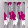 Blossom Jacquard Shower Curtain