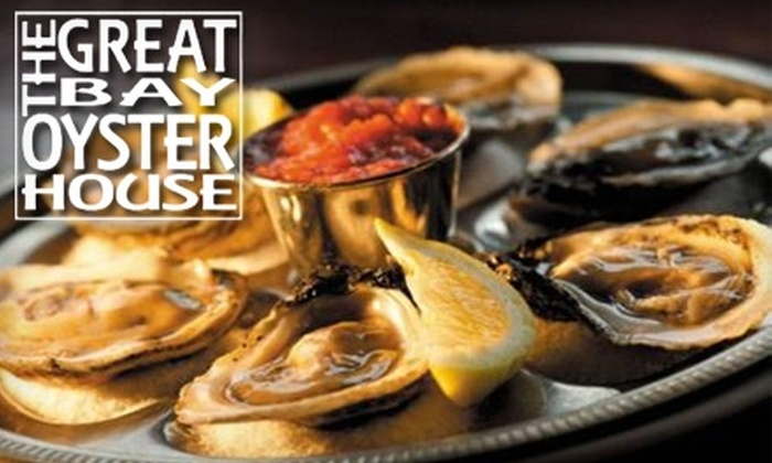 The Great Bay Oyster House/Sushi Mizu - Greer: $20 for $45 Worth of Seafood, Japanese Fare, and Libations at The Great Bay Oyster House/Sushi Mizu