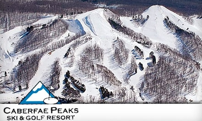 Caberfae Peaks Ski-Golf Resort - South Branch: $19 for a Lift Ticket at Caberfae Peaks Ski & Golf Resort in Cadillac