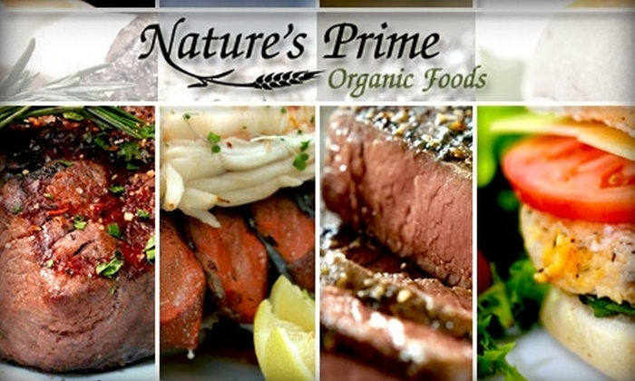 Nature's Prime Organic Foods - Minneapolis / St Paul: $69 for a USDA Organic Ham or Turkey Holiday Package from Nature's Prime Organic Foods (Up to a $166 Value)