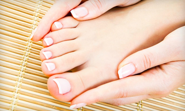 Absolute Bliss - Downtown Sioux Falls: Pedicure or Shellac Mani-Pedi at Absolute Bliss