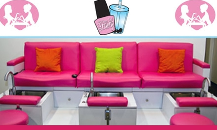 Denver Nail Lounge - Central Business District: $50 for Two Mani-Pedis at Denver Nail Lounge ($110 Value)