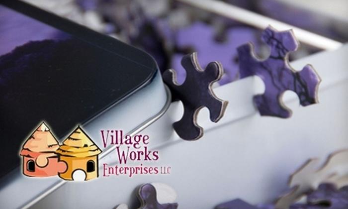 Village Works Enterprises LLC: $12 for $24 Worth of Custom Puzzles from Village Works Enterprises LLC
