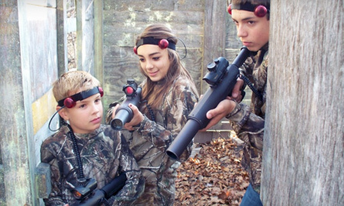 Bill's Extreme Paintball and Laser Tag - Westside Community Betterment: $49 for a One-Hour Laser-Tag Party at Bill's Extreme Paintball and Laser Tag in Marionville ($100 Value)