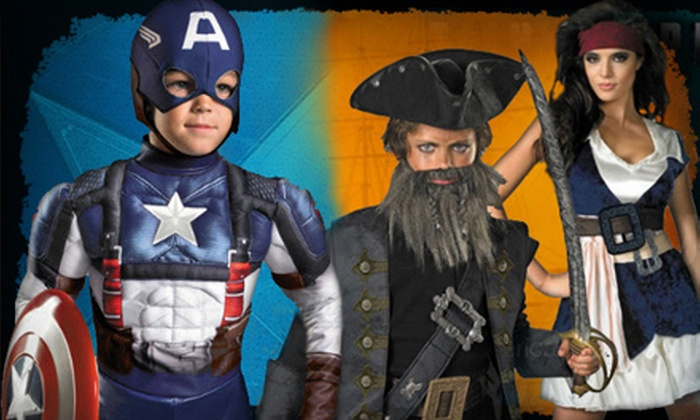 Halloween Express - Multiple Locations: $15 for $30 Worth of Costumes, Accessories, and Decorations at Halloween Express