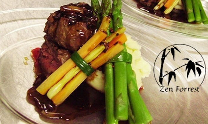 Zen Forrest - New Port Richey: $10 for $25 Worth of Pan-Asian Fare and Drinks at Zen Forrest