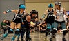 Magnolia Roller Vixens - Downtown Jackson: $12 for Two Tickets to Magnolia Roller Vixens (Up to $24 Value). Four Bouts Available.