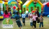 Bouncing Tigers - Airline/Jefferson: $40 for $100 Worth of Rental Party Equipment from Lindsey's Entertainment or $35 for 20 Play Passes (Up to $150 Value) at Lindsey's Bouncing Tigers