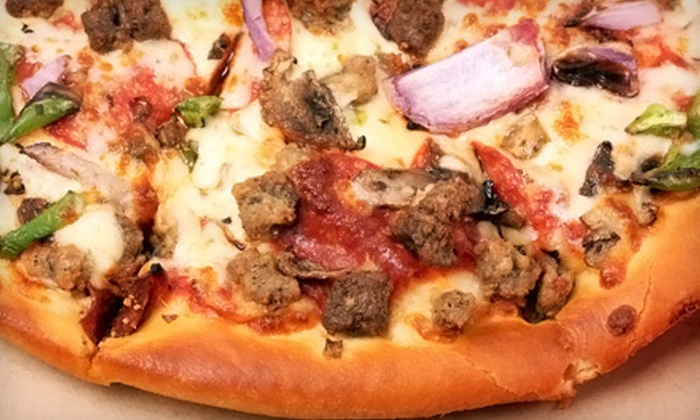 Pizzalita - West End: One or Two Large Three-Toppings Pizzas with Soda at Pizzalita (Up to 57% Off)