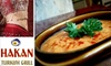 Hakan Turkish Grill - West Avenue: $55 for Two-Course Turkish Meal, Open Bar, and Belly Dancing at Hakan Turkish Grill