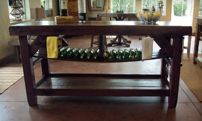 Wood Wine & Wire - Atlanta: $100 for $200 Worth of Handcrafted Furniture from Wood Wine & Wire