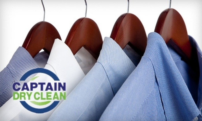 Captain Dry Clean - Middletown: $12 for $25 Worth of Dry Cleaning and Delivery Service at Captain Dry Clean in Ewing, New Jersey
