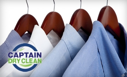 $25 Groupon to Captain Dry Clean - Captain Dry Clean in