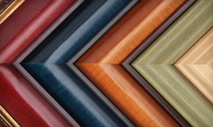 Gallery in the Vault - Wooster: $50 for $100 Worth of Custom Framing at Gallery in the Vault in Wooster