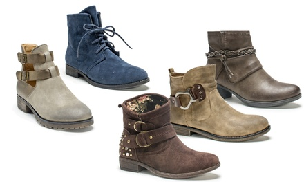Women's Short Boots in Multiple Styles