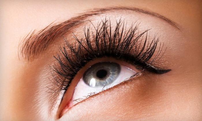 Ayromist - Multiple Locations: Half Set, Full Set, Mink Set, or Three Full Sets of Eyelash Extensions at Ayromist (Up to 80% Off)
