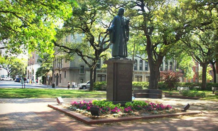 Savannah Belle Tours - Downtown Savannah: $15 for a Public Walking Tour for Two from Savannah Belle Tours ($30 Value)